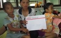 Hơn 17 triệu đồng đến với hai chị em bị máu huyết tán