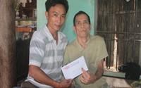 Hơn 13 triệu đồng đến với gia đình cựu binh mang nỗi đau da cam Lê Văn Hóa