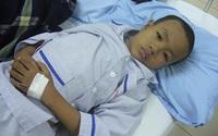 Gia cảnh nghèo, bé 9 tuổi bị u máu không được điều trị đầy đủ
