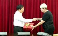 Tổng cục trưởng Tổng cục DS-KHHGĐ tiếp xã giao Đại sứ Isarel tại Việt Nam và GS Ariela Lowenstein