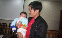 Xúc động tâm thư của bố bé Chí Linh