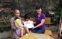 May mắn đến với bé Tâm Phúc bị bỏ rơi ở chùa Thái Ân