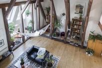 Ngôi nhà hai tầng phong cách rustic ngập tràn ánh sáng tạo ra sức lôi cuốn khó cưỡng