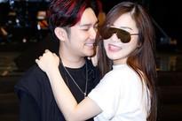 Hương Tràm ôm chầm Quang Hà trong buổi tập nhạc