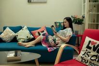 Căn hộ cao cấp xinh xắn và rực rỡ của nữ diễn viên Lan Phương