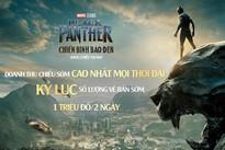 'Black Panther' tạo cơn sốt phòng vé chưa từng có ở Việt Nam
