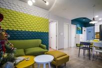 Căn hộ 60m² được decor với gam màu xanh lá vô cùng xinh xắn ở quận 2, TP. HCM