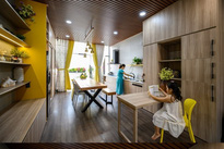 Ngôi nhà nổi bần bật giữa phố của một giám đốc ở Sài Gòn