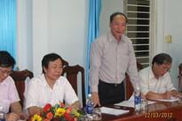 Đoàn công tác của Tổng cục DS-KHHGĐ làm việc tại Quảng Nam