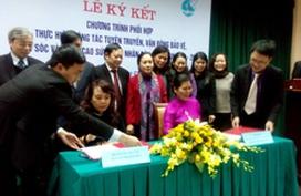 Bộ Y tế ký kết hợp tác với Hội Liên hiệp Phụ nữ Việt Nam