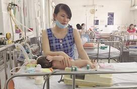 TP HCM: Trẻ mắc bệnh hô hấp tăng đột biến