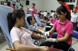 Phát triển nguồn hiến máu an toàn, ổn định