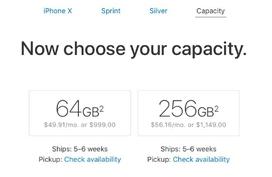 iPhone X vừa cho đặt trước đã hết hàng sau vài phút