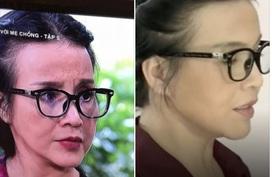 Bà mẹ nghèo của 'Sống chung với mẹ chồng' đeo kính nghìn đô