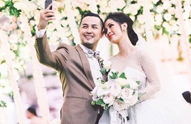 Anh trai Bảo Thy chi hơn 2 tỷ đồng trang trí cho đám cưới ở sân bóng