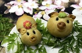 Công thức làm bánh nướng Trung thu hình lợn con xinh xắn đơn giản