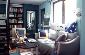 Căn hộ 29m² tiện nghi như chung cư cao cấp của chàng trai độc thân
