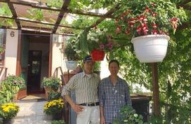 Vườn rau sạch gợi nhớ quê hương của ông bố Việt tại Đức