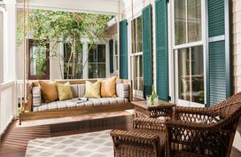 19 ý tưởng sử dụng ghế treo làm nơi thư giãn đẹp khó cưỡng