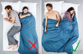 5 kiểu ngủ của vợ chồng báo trước khả năng ly dị