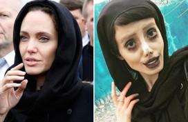 Giật mình ngắm Angelina Jolie phiên bản