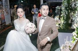 Anh trai Bảo Thy tổ chức đám cưới hoành tráng với vợ hot girl 9X