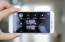 Smartphone đầu tiên có tính năng làm đẹp trong video trực tuyến