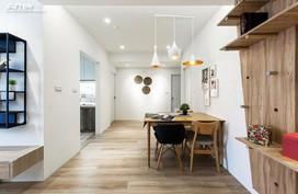 Chỉ thay đổi nội thất 1 tý thôi mà nhà chung cư cũ kĩ 40 năm biến thành căn hộ hiện đại, đáng sống