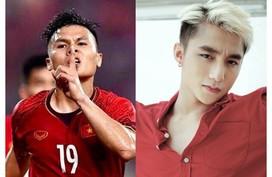 Ca sĩ Hoàng Bách ví Quang Hải với Sơn Tùng M-TP, Đặng Văn Lâm với MC Lại Văn Sâm