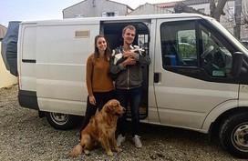 Nhiều người trẻ chọn lối sống 'du mục' trên xe tải thay vì mua nhà