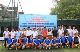 Khai mạc giải bóng đá NAPA mở rộng 2018