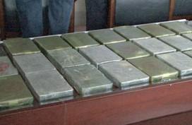 Xách bao tải chứa 23 bánh heroin vào nhà nghỉ