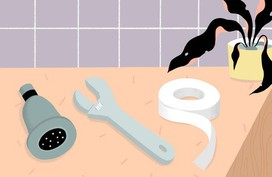 Chỉ với 5 bước đơn giản, bạn đã có thể tự tay thay vòi hoa sen trong nhà tắm mà không cần thợ