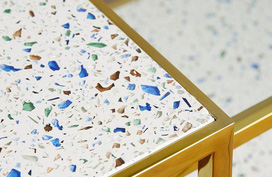 """Xu hướng sử dụng vật liệu đá mài granito đã quay trở lại trong thiết kế nhà và tạo nên một """"cơn sốt"""""""