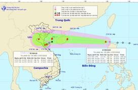 Áp thấp nhiệt đới mạnh lên thành bão, hướng thẳng vào Bắc bộ