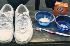 Mách cách giặt giày thể thao