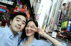 Á quân Next Top Model Tuyết Lan chụp ảnh cưới với hôn phu