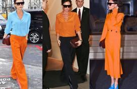 Mùa thu lên đồ tuyệt đẹp với trang phục màu cam đất - màu của những viên gạch cũ và chiếc lá khô