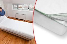 Ga trải giường 7 lớp: Loại ga dành cho những người lười giặt giũ, lười thay ga