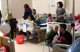 """Đoàn Luật sư Hà Nội mang """"hơi ấm ngày Tết"""" đến với trẻ em bị bệnh ung thư"""