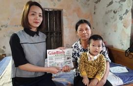 Khó khăn vẫn chồng chất với bé Thiên bị u đầu tụy dù đã được phẫu thuật