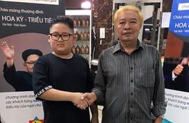 Salon Hà Nội cắt miễn phí kiểu tóc giống Kim Jong-un, Trump