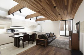 Xoay 45 độ tránh nắng, căn nhà kiểu Nhật được khen hết lời vì vừa đẹp vừa hay
