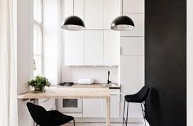 """Nhà bếp nhỏ ở chung cư sẽ """"lột xác"""" thoáng rộng trông thấy nhờ những ý tưởng siêu hay này"""