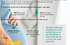 Việt Nam: Số phụ nữ ở độ tuổi sinh đẻ đạt cực đại vào năm 2027-2028