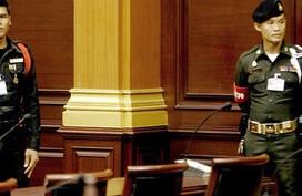 Cảnh sát nghỉ hưu bắn chết luật sư trong phòng xử án ở Thái Lan