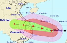 Nhiều tỉnh, thành miền Trung cho học sinh nghỉ học tránh bão số 9
