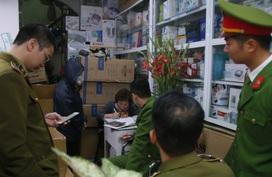 Quản lý thị trường Hà Nội kiên quyết xử lý tiệm thuốc tăng giá khẩu trang gấp nhiều lần