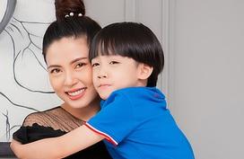 Chứng tự kỷ của con trai Ngọc Hiền cải thiện 80%