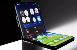 Chiếc iPhone màn hình gập trông sẽ như nào?
